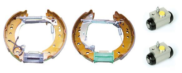 kit de frein arrière simple ou prémonté BREMBO K 61 080 (Jeu de 2)