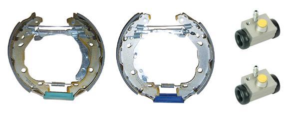 kit de frein arrière simple ou prémonté BREMBO K 68 072 (Jeu de 2)