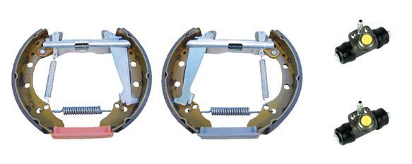 kit de frein arrière simple ou prémonté BREMBO K 85 026 (Jeu de 2)