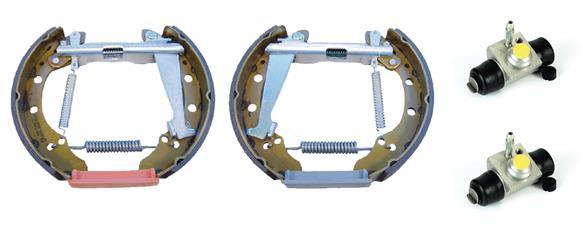 kit de frein arrière simple ou prémonté BREMBO K 85 038 (Jeu de 2)