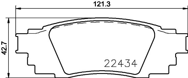 Kit de plaquettes de frein, frein à disque BREMBO P 83 160 (Jeu de 4)