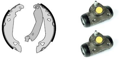 kit de frein arrière simple ou prémonté BREMBO H 23 020 (Jeu de 2)