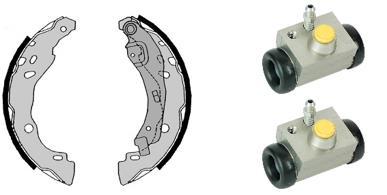kit de frein arrière simple ou prémonté BREMBO H 68 072 (Jeu de 2)