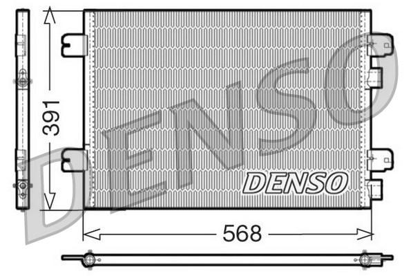 Condenseur / Radiateur de climatisation DENSO DCN23011 (X1)