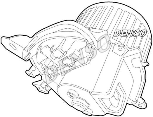 Chauffage et climatisation DENSO DEA01012 (X1)