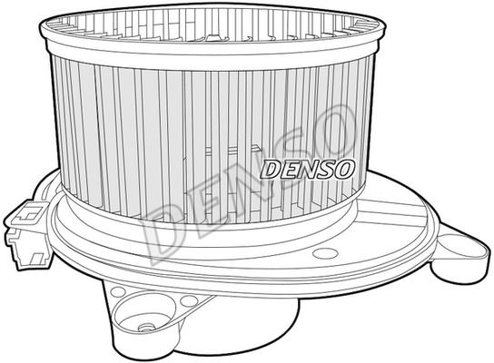 Chauffage et climatisation DENSO DEA06001 (X1)