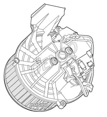 Chauffage et climatisation DENSO DEA07003 (X1)