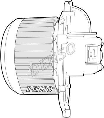 Chauffage et climatisation DENSO DEA07018 (X1)