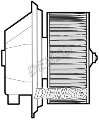 Chauffage et climatisation DENSO DEA09001 (X1)