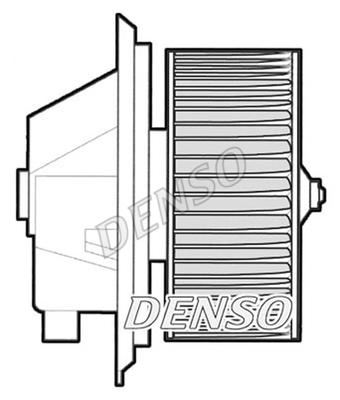 Chauffage et climatisation DENSO DEA09002 (X1)