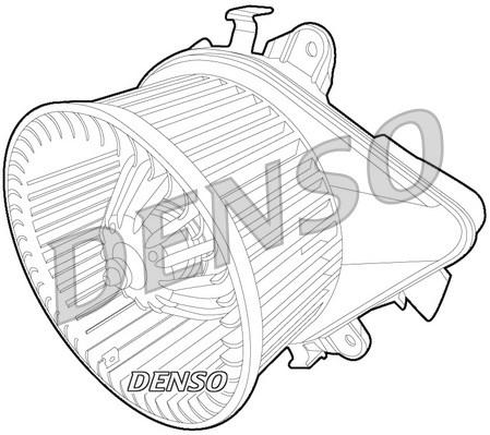 Chauffage et climatisation DENSO DEA09033 (X1)