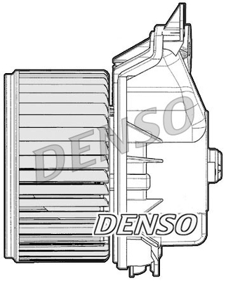 Chauffage et climatisation DENSO DEA09047 (X1)