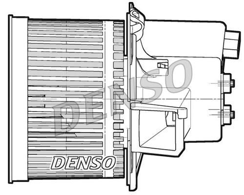 Chauffage et climatisation DENSO DEA09060 (X1)