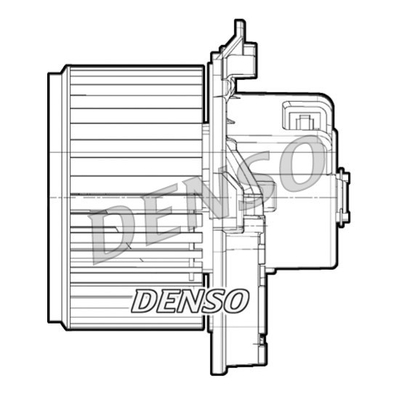 Chauffage et climatisation DENSO DEA09071 (X1)