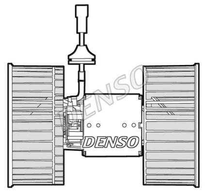 Chauffage et climatisation DENSO DEA12002 (X1)