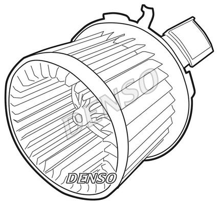 Chauffage et climatisation DENSO DEA21003 (X1)