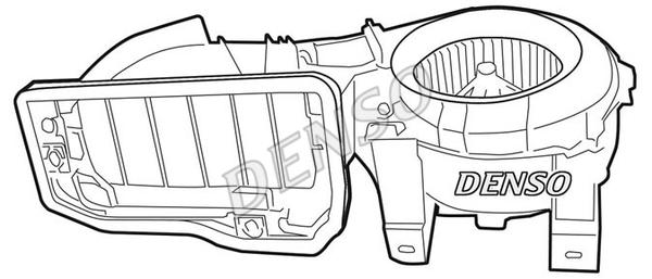 Chauffage et climatisation DENSO DEA23001 (X1)