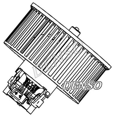 Chauffage et climatisation DENSO DEA23006 (X1)
