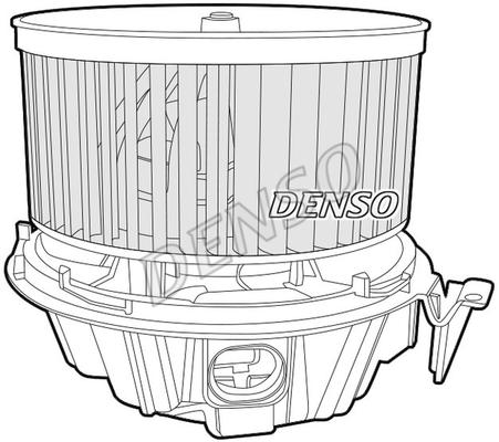 Chauffage et climatisation DENSO DEA37001 (X1)