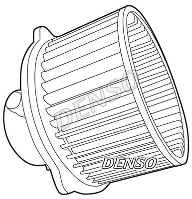 Chauffage et climatisation DENSO DEA41004 (X1)