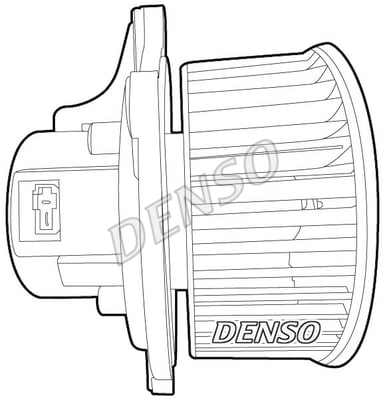 Chauffage et climatisation DENSO DEA43003 (X1)