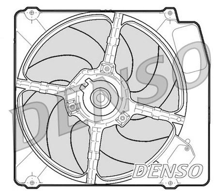 Ventilateur de radiateur DENSO DER01203 (X1)
