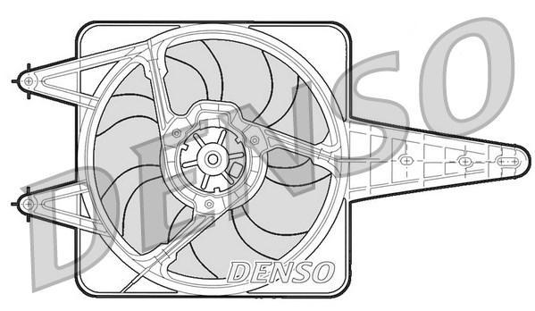 Ventilateur de radiateur DENSO DER13203 (X1)