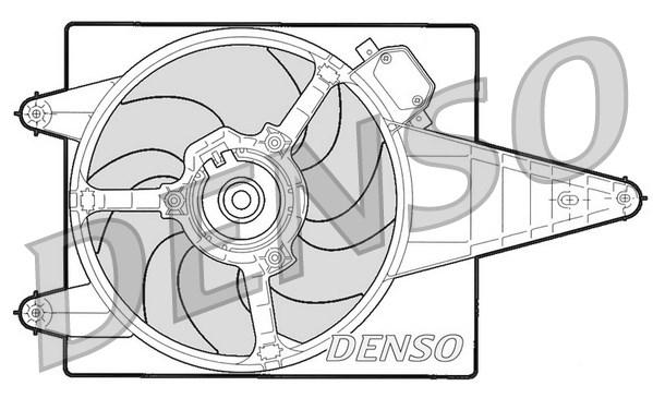 Ventilateur de radiateur DENSO DER13204 (X1)