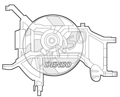 Ventilateur de radiateur DENSO DER37002 (X1)