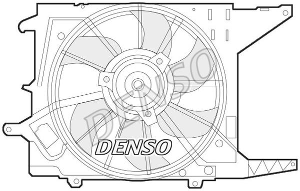 Ventilateur de radiateur DENSO DER37003 (X1)