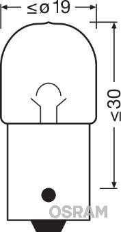 Ampoules OSRAM 5007-02B (Jeu de 2)