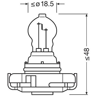 Ampoules OSRAM 5201 (X1)