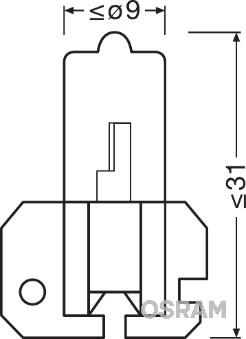 Ampoules OSRAM 64173 (Jeu de 10)