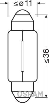 Visibilite OSRAM 6418-02B (Jeu de 2)