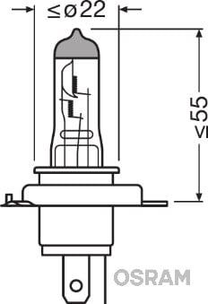 Ampoules OSRAM 64193 (Jeu de 10)