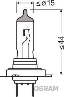 Ampoules OSRAM 64210ULT (Jeu de 10)