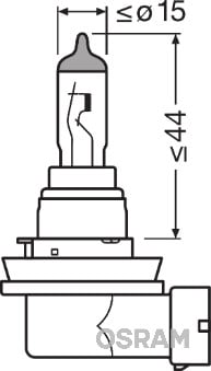 Ampoules OSRAM 64212-01B (X1)