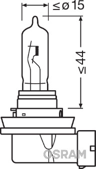 Ampoules OSRAM 64213 (Jeu de 10)