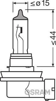 Ampoules OSRAM 64211 (Jeu de 10)
