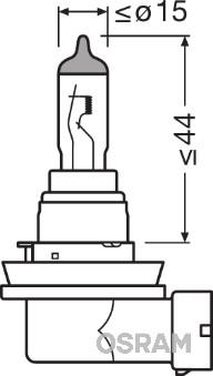 Ampoules OSRAM 64219CBI (Jeu de 10)