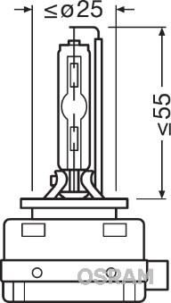 Ampoules OSRAM 66140ULT (X1)