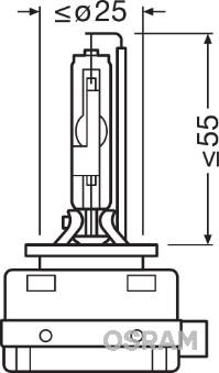 Ampoules OSRAM 66150CBI (X1)