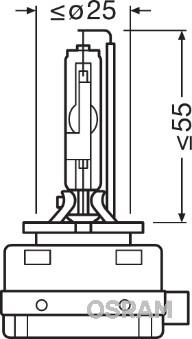 Ampoules OSRAM 66350 (X1)