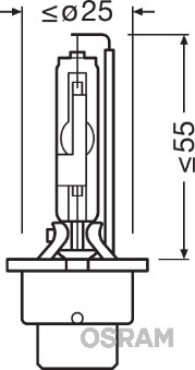Ampoules OSRAM 66450 (X1)