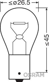 Ampoules OSRAM 7506-02B (Jeu de 2)