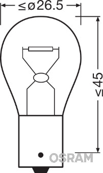 Ampoules OSRAM 7508LDR-01B (X1)