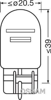 Ampoule, feu de stop (Jeu de 2)