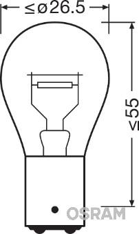 Ampoules OSRAM 7538LDR-01B (X1)