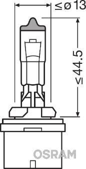 Ampoules OSRAM 880CBI (X1)
