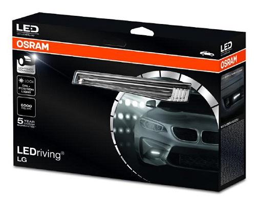 Optiques et phares OSRAM LEDDRL102 (X1)